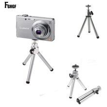 FGHGF Mini Tripod Bracket For iphone Camera Digital Camera Self-Timer Smartphones Holder Universal Adjustable Desktop stand(China)