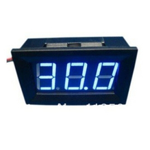Mini 3.0-30VDC Digital Voltage Panel Meter DC 3.0V to 30V Blue LED Digital Voltmeter DC Voltage Monitor Meter LED display