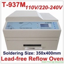Authorized PUHUI T-937M Reflow Oven T937M Lead-free Reflow Solder Oven BGA SMD SMT Rework Sation T 937M Reflow Wave Oven