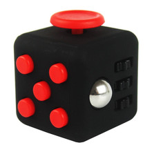 9 Colors EDC Fidget Toy Anti Anxiety Funny Stress Reliever Mini Fidget Cube Toys Puzzle Magic Cube for Children Adult Spiner Toy