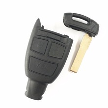 1pcs/lot 3 buttons Smart Card Remote Key Shell Case For FIAT CROMA Keyless Car Alarm Cover Housing with Key Blade