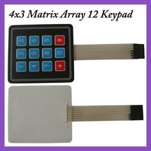 Keyboard 4 x 3 Matrix Array 12 Keypad(China)