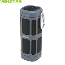 VENSTAR S400 Portable Bluetooth Speaker Column 16W Subwoofer Driver Passive Radiator 6000mAh Battery for Outdoor Bicycle Sports(China)