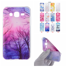 Cartoon Butterfly Bear Tree Painted Back Cover Silicon Gel Soft TPU Mobile Phone Case For Samsung Galaxy J310 coque J3 2016 para