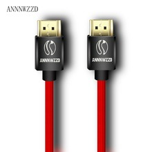 HDMI CABLE 2.0 4K 3D 1M 2M 3M 5M 10M Cable hdmi 1080P 3D FOR PS3 XBOX BLURAY HDR TV CABLE(China)