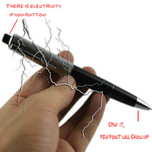 Teaser Electric Shocker Toys Shock Pen Utility Gadget Gag Joke Funny Prank Trick Novelty Gift 96938(China)