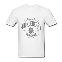 I'm Your Huckleberry (vintage distressed look) Shirts 2XL Boyfriend's Creat Your Own T Shirt  Graphic T-shirts