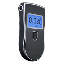 self-check sensor malfunction breath alcohol analyzer alcohol tester with 5pcs mouthpiece free shipping