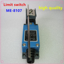 10PCS high quality ME-8107  Position AC DC Limit Switch Of Roller Wheel 1NC 1NO Reset Switch