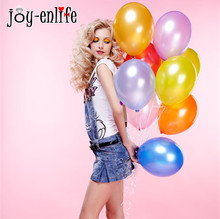 JOY-ENLIFE Cheap 100pcs ballons Pearl balloons wedding Decoration Birthday party decoration baby shower decoration