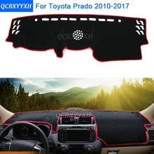 Car Styling Dashboard Protective Mat Shade Cushion Photophobism Pad Interior Carpet For Toyota Prado 2010-2017 Accessories(China)