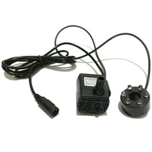 Brand New 3W DC12V 200L/H Mini Brushless Water Pump with LED light Fish Tank Aquarium Waterpump Fountain Pond Pool