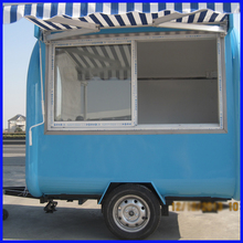 High quality Customized trailer mobile food cart fast food ice cream hot dog food truck(China)