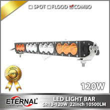 free shipping 6pcs 22inch 120W led light bar 4x4 parts for 4x4 offroad bumpers pick up truck trailer buggy tractors machinery(China)