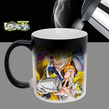 dbz dragon ball z SON vegeta son goku gohan vegeta dragonball coffee mugs mug novelty heat changing color transforming Tea Cups(China)
