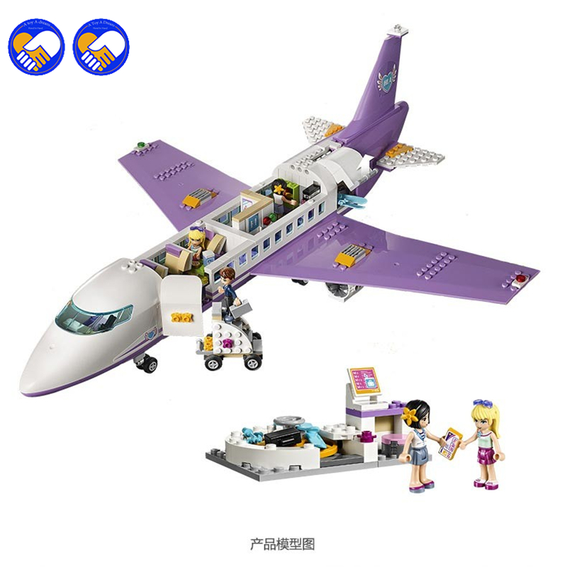 A toy A dream Bevle LELE 79175 701Pcs Heartlake City Airport Building Block Compatible with Airport 41109 Toys<br>