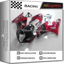 Custom Design GSX-R1000 03 2003 2004 04 For Suzuki Fairing Kits GSX-R1000 K3 2003 2004 Motorcycle ABS Bodywork Red&Black