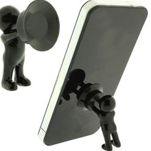 Wholesale price 3D man stand ,mobile phone holders ,little people shape cell phone stand(China)