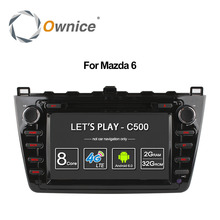 Ownice C500 Octa Core Android 6.0 car dvd gps For Mazda 6 Ruiyi Ultra 2008 2009 2010 2011 2012 wifi 4G Radio 2GB RAM BT 32G ROM(China)