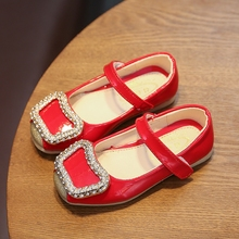 Girls Shoes Cool PU Leather Kids Summer 2017 Baby Girls Sandals diamond Shoes Skid Proof Children Kids crystal Shoes