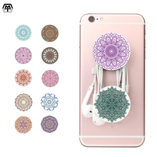 Pop Beautiful Pattern Socket Finger Hand Mobile Phone Holder Round Phone Stander Mount Smartphone Desk Stand For iPad iPhone