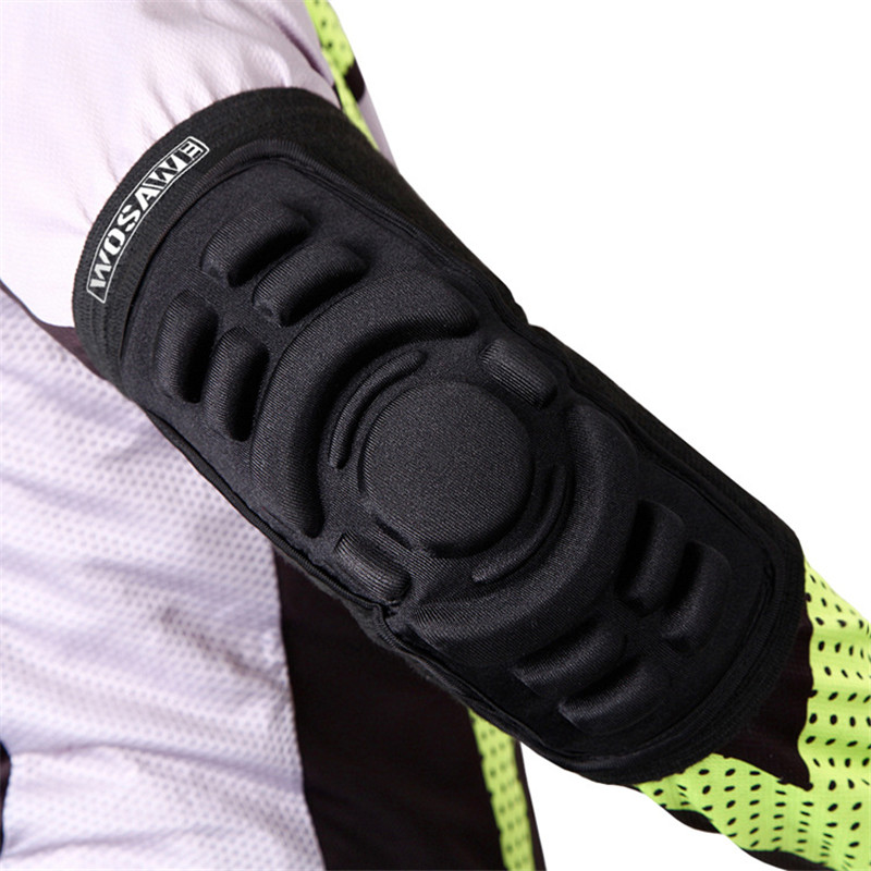 MTB Elbow Pads Guard Mountain Bike Cycling Riding Elbow Protection Supportor Skiing Motorcycle Bicycle Downhill Protective Gears(China)