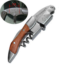 15pcs Custom LOGO to Screwpull Corkscrew Wine Bottle Opener with Rosewood Handle Flannel Bag Packing
