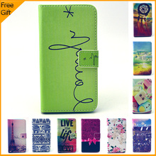 Luxury Cartoon Wallet Flip Leather Cell Phone Case Cover For Alcatel One Touch Pop C7 7041D 7041X Case Shell With Card Holders