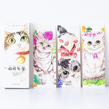 30pcs/pack Japan love Cat collection Bookmark set Kawaii cards DIY gift card kids' prize(China)