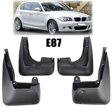 XUKEY FRONT REAR MUDFLAPS FIT FOR 2004-2011 BMW 1 SERIES E81 E87 MUD FLAP SPLASH GUARDS 2007 08 09 2010 FENDER ACCESSORIES 2006