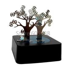 Free Shipping 10Pieces Different Magnetic Sculpture Block Magnetic Desk Toy As a gift