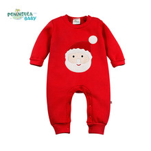 Buy Baby Girls Boys Pullover Romper Santa Claus Reindeer Christmas tree Kid Clothing New Year Costumes Kids Winter Newborn gift for $12.75 in AliExpress store
