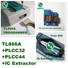 Free Shipping TL866A+PLCC32+PLCC44+IC Extractor USB High Performance Willem Universal Programmer\Support ICSP  FLASH\EEPROM