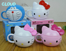Doraemon Milk Cup Mixing Tea Coffee Cup Office Home Best Promotion Creating Hello Kitty Milk Cup