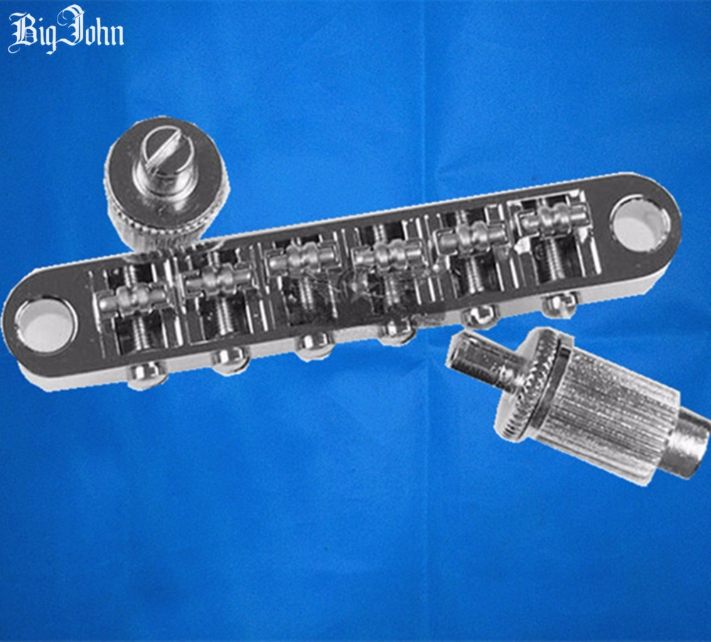free shipping new  electric guitar bridge BM005 in chrome made in Korea  8173<br>
