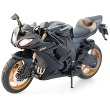 Maisto Brand New 1/12 Scale Diecast Motorcycle Model Toys Kawasaki Ninja Green Color Motorbike Metal Model Toy