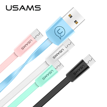 USAMS Micro USB cable xiaomi redmi note 5, 2A faster charging Mobile Phone Cable Microusb Xiaomi redmi 5 charger cable