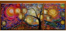 100% Hand Painted Abstract Landscape Warm Special Life Tree Artwork Home Wall Decor Art Oil Paintings on CanvasLarge Oversized