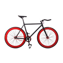 Fixie Bike DIY 700C 52cm Bicycle Track Steel Frame Bicicleta Fixed Gear Bike City Bike Steel Bike Fixie Bicycle Fixed Gear(China)