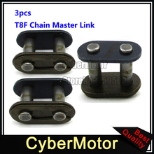 3x T8F Chain Spare Master Link For 2 Stroke 43cc 47cc 49cc Motorcycle Mini ATV Quad 4 Wheeler Dirt Super Pocket Bike(China)