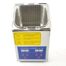 2L Stainless Steel Digital Ultrasonic Cleaner Ultra Sonic Bath Heater Timer(China)