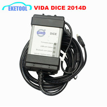 Auto Diagnostic Communication For Volvo Dice Newest 2014D Super Function Excellent PCB Board Full Chip Vida Dice For VOLVO(China)