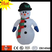 3m 9.84ft inflatable snow man for holiday party favors wedding christmas decorating 420D Oxford(China)