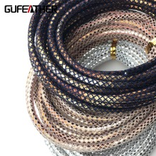 GUFEATHER/leather Cord/jewelry accessories/accessories parts/diy/jewelry findings & components/jewelry findings/hand made/PU