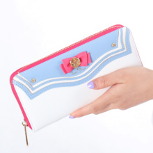 New Samantha Vega Sailor Moon 20th Anniversary Limited Edition Long Zipper Female Bag Women Wallet Purse anime action figures