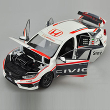 Brand New 1:18 JAPAN HONDA CIVIC CTCC Racing Car Diecast Metal Car Model Toy For Collection Decoration Kids Gift Toys