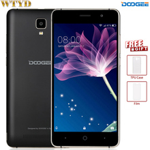 3G Original Doogee X10 Smartphone 5.0'' Android 6.0 MTK6570 Dual Core Metal Frame RAM 512M ROM 8GB 3360mAh Cellphone GPS WIFI(China)