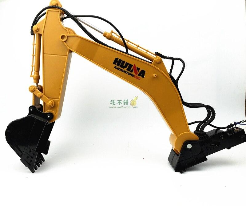 Mechanical arm mechanical manipulator grab six channel excavator excavator bucket excavator arm DIY<br>