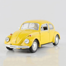 1:36 RMZ VW Beetle Toys For Boys, Simulation Alloy Classic Mini Beetle 1967 Toy Car, Vintage Cars, Kids Toys, Brinquedos