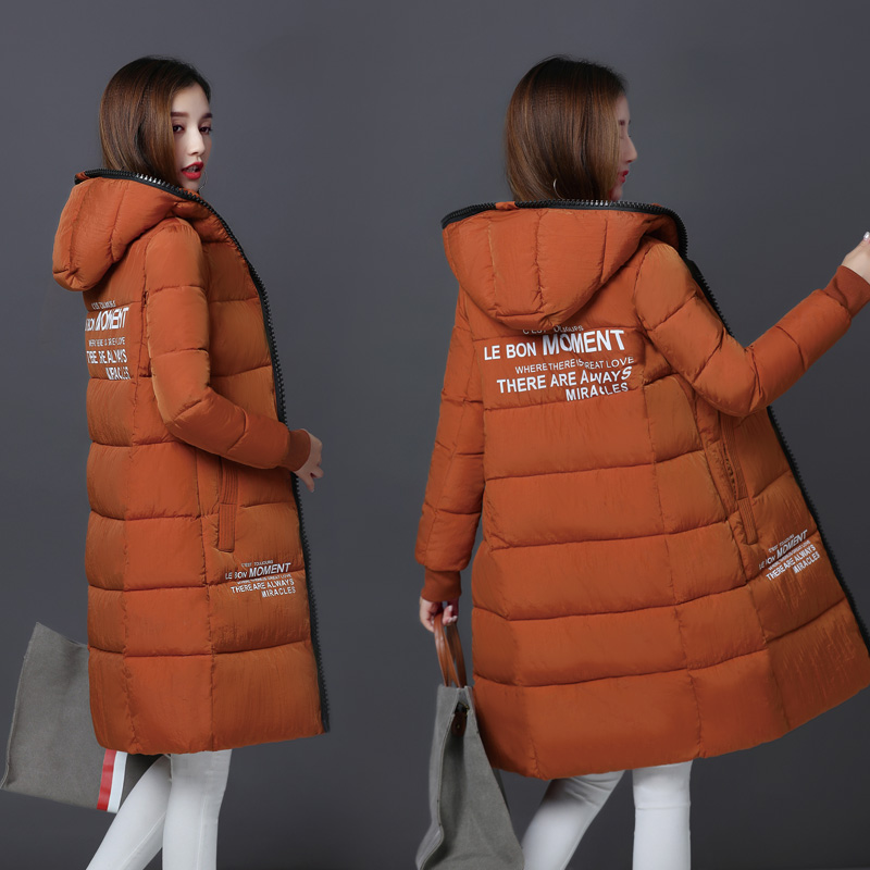 1PC Winter Jacket Women Hooded Cotton Padded Long Coats Winter Coat Women Jaqueta Feminina Inverno Chaqueta Mujer 0819-69Îäåæäà è àêñåññóàðû<br><br>
